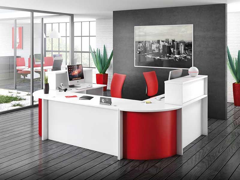 banques accueil ovali i. Black Bedroom Furniture Sets. Home Design Ideas