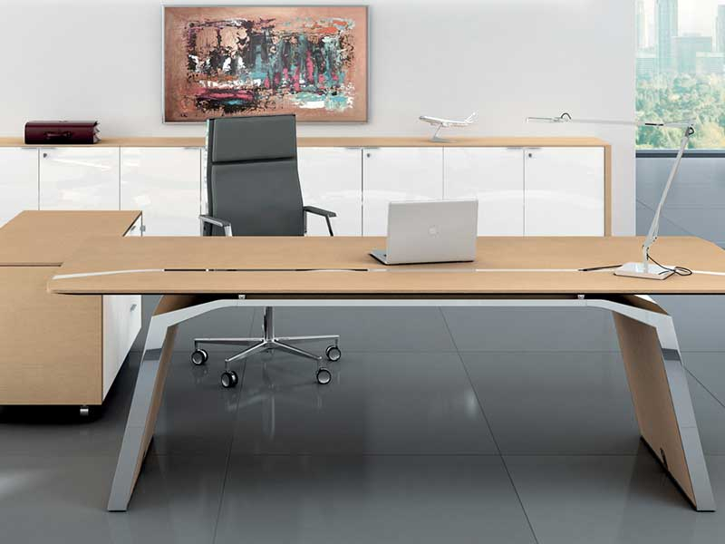 bureaux de direction bois i. Black Bedroom Furniture Sets. Home Design Ideas