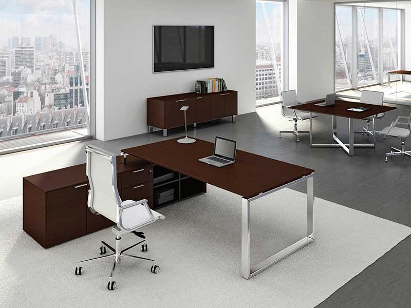 bureaux de direction bois jera i. Black Bedroom Furniture Sets. Home Design Ideas