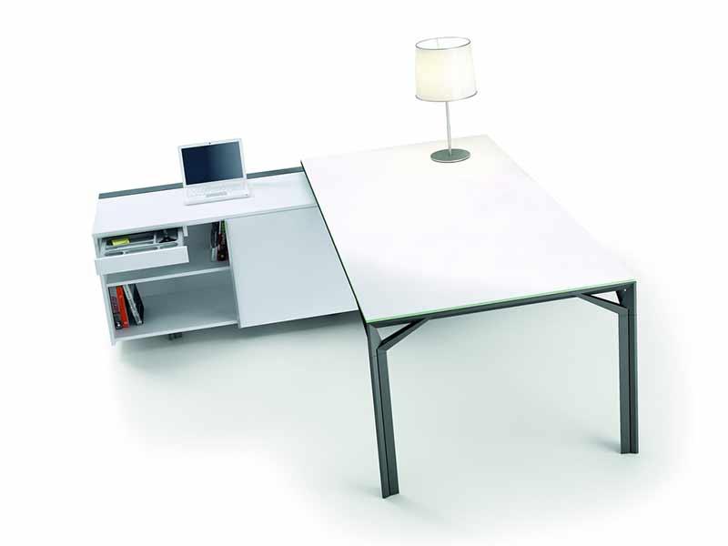 bureaux de direction verre iulio i. Black Bedroom Furniture Sets. Home Design Ideas