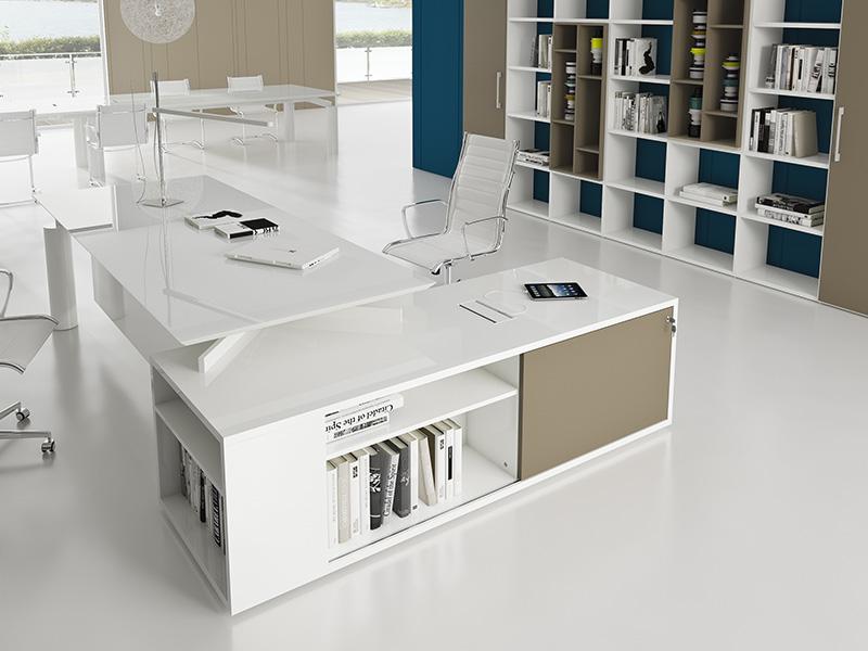bureaux de direction verre i. Black Bedroom Furniture Sets. Home Design Ideas