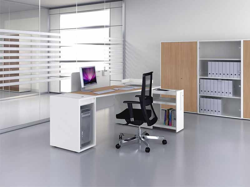 Bureaux openspace logic i for Meuble porte document