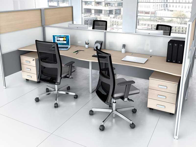 Bureaux openspace system i for Conception bureau open space
