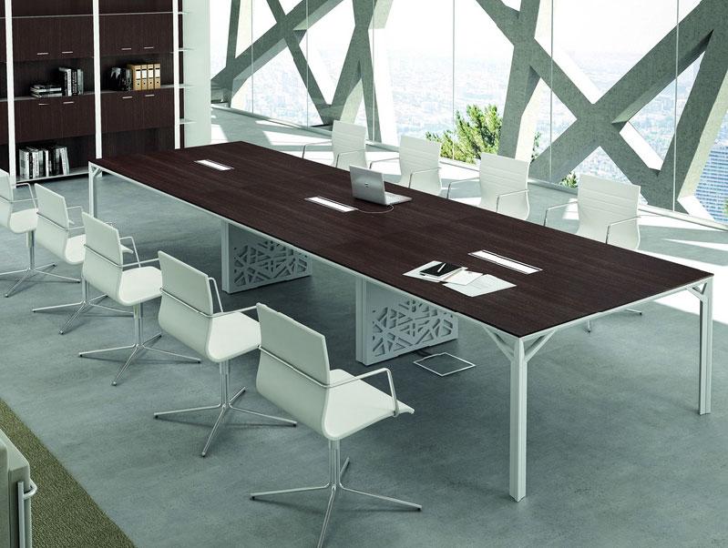 Tables de reunion classic i - Grande table de reunion ...