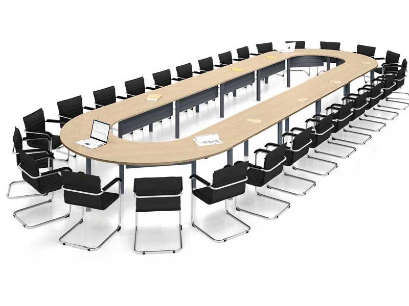 tables de conf rence modulo v7 i. Black Bedroom Furniture Sets. Home Design Ideas