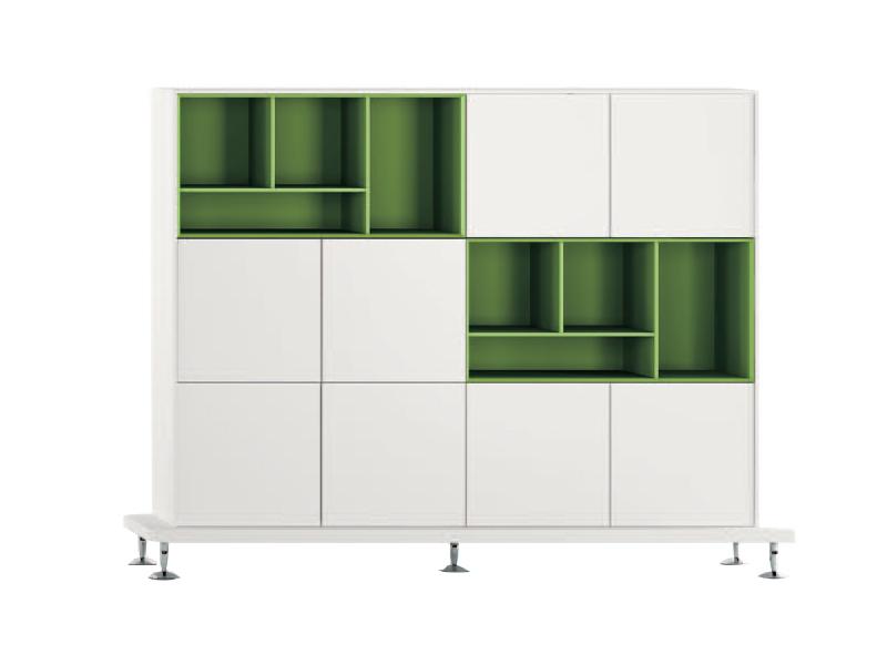 armoires et caissons mélaminés enosi rangement | i bureau.net - Meuble Rangement Bureau Design