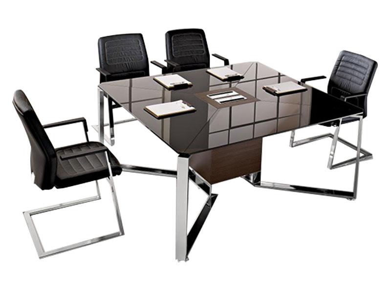 tables de conf rence i meet bois i. Black Bedroom Furniture Sets. Home Design Ideas