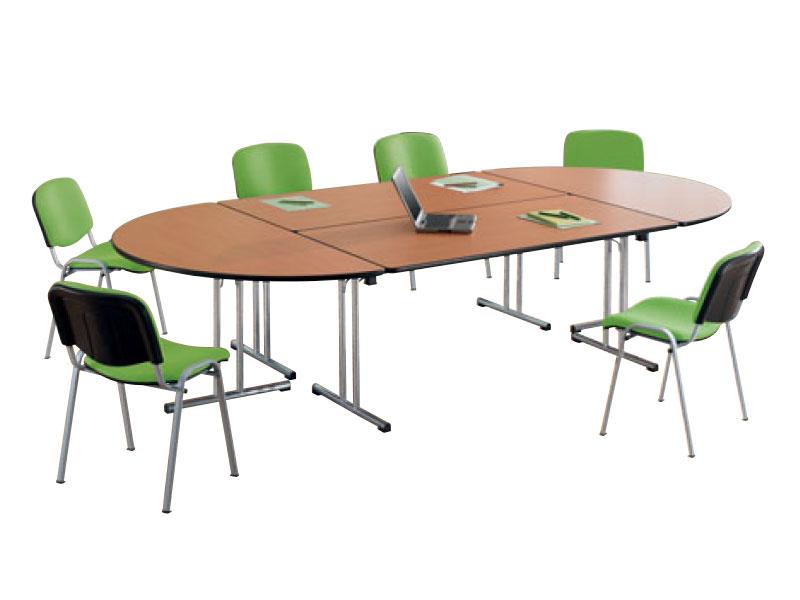 Tables De Reunion Polyvalente Fast Meeting I Bureau Net